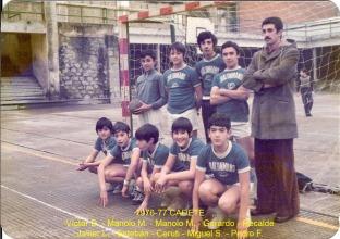 1976-77 Cadete