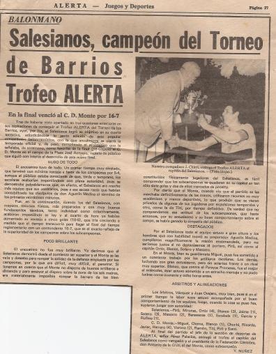 1974-75 Salesianos Trofeo de barrios
